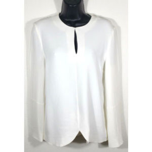 STELLA MCCARTNEY Size 42 Relaxed Top Blouse 1112E1